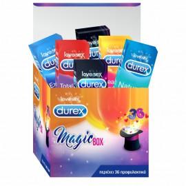 Durex Magicbox Προφυλακτικά 36τμχ