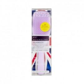 Tangle Teezer Wet Detangling Hairbrush The Wet Detangler Βούρτσα Μαλλιών Silver Glitter/Lilac 1τμχ