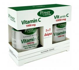 Power Health Set Platinum Range VitC 1000mg 30tabs + Δώρο Platinum Range VitC 1000mg 20tabs