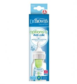 Dr. Browns Μπιμπερό πλαστικό Options+ (Σ.Λ.) 120 ml