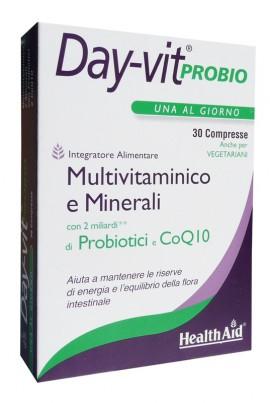HEALTH AID DAY-VIT PROBIO ΜΕ PROBIOTICS & CoQ10 30tabs