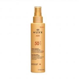 Nuxe Sun Melting Spray High Protection SPF50 Αντηλιακό Γαλάκτωμα για Πρόσωπο & Σώμα 150ml
