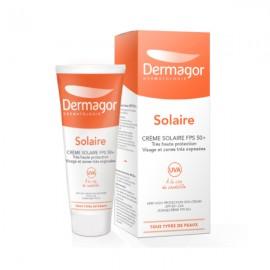 Inpa Dermagor Creme Solaire SPF50+ Αντηλιακή Κρέμα για το Πρόσωπο, για Όλη την Οικογένεια, 40 ml