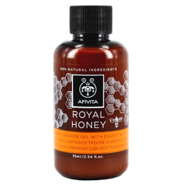 Apivita Mini Royal Honey Creamy Shower Gel 75ml