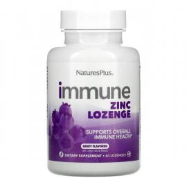 Natures Plus Immune Zinc Lozenge Berry Flavored 60loz