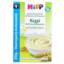 Hipp Υποαλλεργική Κρέμα Δημητριακών Κεχρί με Ρύζι & Καλαμπόκι Βιολογικής Καλλιέργειας 350gr