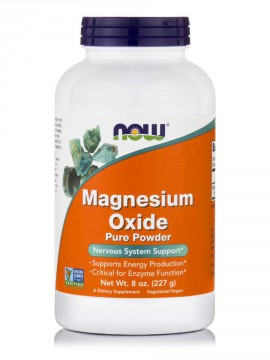 Now Foods Magnesium Oxide Pure Powder 227gr