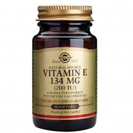 SOLGAR Dry Vitamin E 200IU 50VCAP