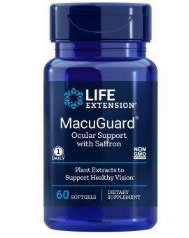 Life Extension MacuGuar  Ocular Support 60caps