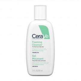 CeraVe Foaming Cleanser Gel Καθαρισμού για Κανονική - Λιπαρή Επιδερμίδα 88ml