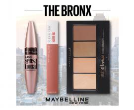 Maybelline Set Lash Sensational Mascara Black 9,5ml + Maybelline Superstay Matte Ink Lipstick 65 Seductres 5ml + Maybelline Master Bronze Color & Highlighting Kit 20 13gr