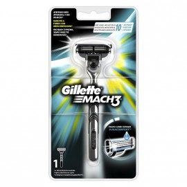 Gillette Mach3 Ξυριστική Μηχανή 1τμχ