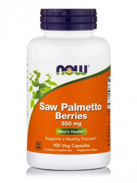 Now Foods Saw Palmetto Berries 550 mg 100 Veg.Caps.