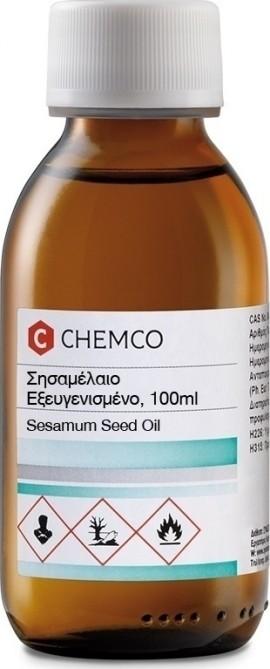 Chemco Σησαμέλαιο Εξευγενισμένο 100ml
