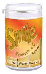 AM HEALTH SMILE Πρόπολη & Βιταμίνη C 60caps