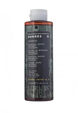 KORRES Αφρόλουτρο Mountain Pepper 250ml