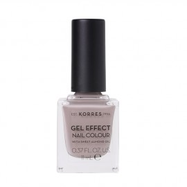 Korres Gel Effect Nail Colour 35 Cocoa Cream 11ml