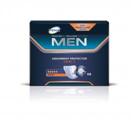Tena Men Absorbent Protector Level 3 Super 8τμχ