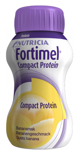 NUTRICIA FORTIMEL COMPACT ΜΠΑΝΑΝΑ 4 X 125ML
