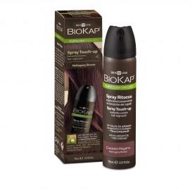 BioKap Nutricolor Spray Touch-Up Εκνέφωμα για την Κάλυψη της Ρίζας Mahogany Brown 75ml