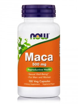 Now Foods Maca 500mg 100 Veg.Caps.