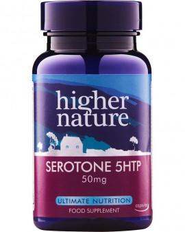 Higher Nature Serotone 5HTP 50mg 30caps