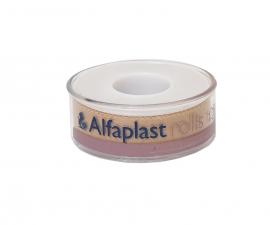 Alfaplast Rolls Υφασμάτινη Αυτοκόλλητη Επιδεσμική Ταινία 1,25cm x 5cm 1τμχ