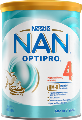 Nestle Nan Optipro 4 Ρόφημα Γάλακτος σε Σκόνη από τον 2ο Χρόνο 800gr