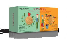 Power Health Μπισκότα Με Γεύση Μήλο-Κανέλα/Φρούτα Του Δάσους 8τμ