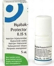 HYABAK PROTECTOR 0,15% Eye drops Υαλουρονικού Νατρίου 5ml