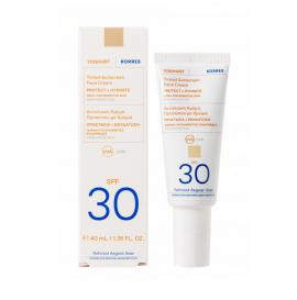 Korres Yoghurt Tinted Sunscreen Face Cream Spf30 Αντηλιακή Κρέμα Προσώπου Γιαούρτι με Χρώμα, Υψηλής Προστασίας 40ml