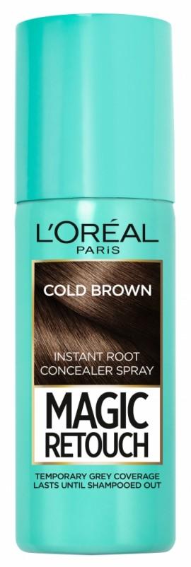 LOreal Paris Magic Retouch Instant Root Concealer Spray 7 Medium Iced Brown 75ml
