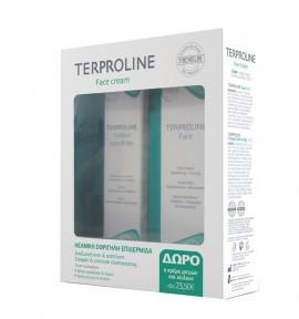 Synchroline Terproline Set Face Cream 50ml + Eyes and Lips Contour Cream 15ml