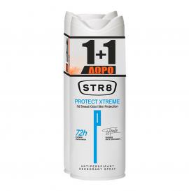 STR8 Deo Spray Protect Xtreme 150ml 1+1 Δώρο