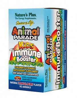 NATURES PLUS Animal Parade Kids Immune Booster 90tabs