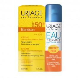 Uriage Set Bariesun Creme SPF50+ 50ml & ΔΩΡΟ Eau Thermale Water Spray 50ml