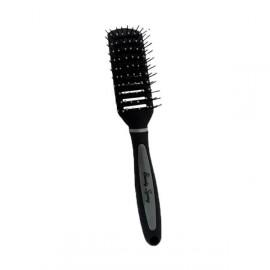 Beauty Spring Βούρτσα Μαλλιών Αέρος Μαύρο-Γκρι 5202