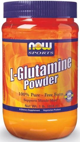 Now Foods L-Glutamine Powder 454gr
