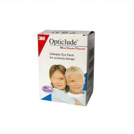 3M Opticlude Mini Junior Eye Patches 5.0cm x 6.2cm 20τμχ (1537)