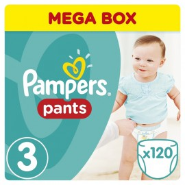 Pampers Mega Pack No.3 Nappy Pants 6-11 kg 120pcs