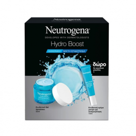 Neutrogena Set Hydro Boost Ενυδατικό Gel Προσώπου για Κανονικές - μικτές Επιδερμίδες 50ml + Δώρο Neutrogena Hydro Boost Ενυδατική Κρέμα Ματιών 15ml