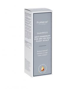 Foltene Shampoo Antidandruff Oily Flaky Scalp Σαμπουάν Κατά της Πιτυρίδας Λιπαρή/Ξηρή 200ml