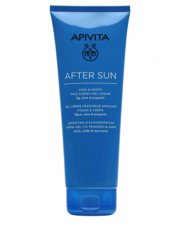 Apivita After Sun Cool & Sooth Face & Body Gel-Cream 200ml