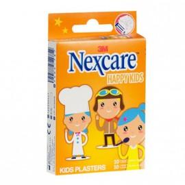 Nexcare Happy Kids Παιδικοί Αυτοκόλλητοι Μικροεπίδεσμοι Επαγγέλματα 20τμχ