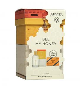Apivita Set Bee My Honey Eau de Toilette 100ml + Δώρο Σαπούνι με Μέλι 125gr