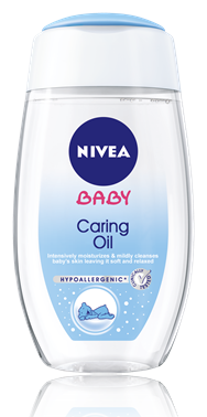 NIVEA Baby Caring Oil Βρεφικό Λάδι 200ml