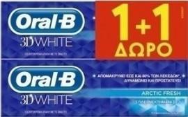 Oral-B 3D White Arctic Fresh (1+1) 2 x 75ml