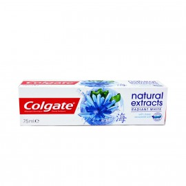 Colgate Natural Extracts Radiant White Seaweed Salt Toothpaste 75ml