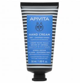 Apivita Hand Cream Κρέμα Χεριών για Ξηρά-Σκασμένα με Βάλσαμο και Βιολογικό Κερί 50ml