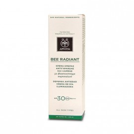 Apivita Bee Radiant  Κρέμα Ημέρας Αντιγήρανσης & Λάμψης με Βλαστοκύτταρα Πορτοκαλιού SPF30 40ml